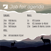 Job fair tour 2019 - Agenda